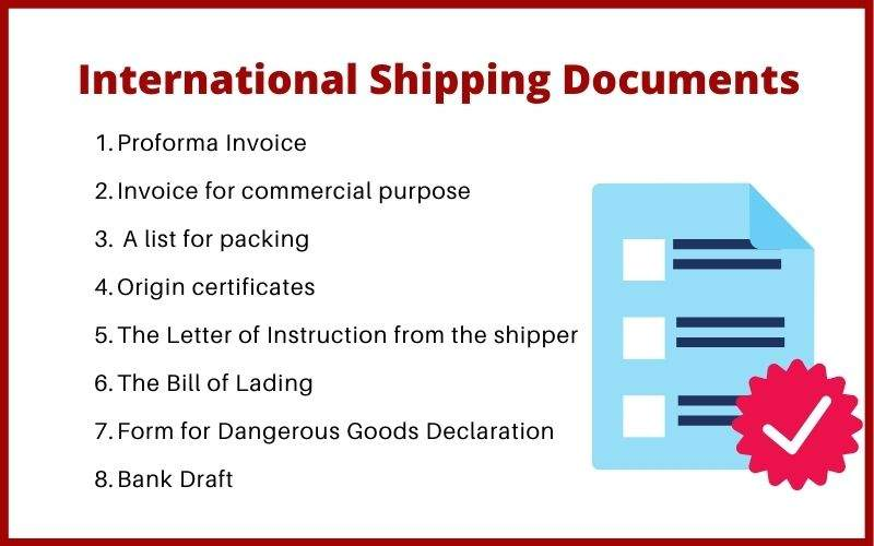 International Shipping Documents